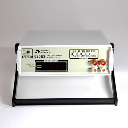 Amptec Research 620ES Safe Squib Tester Front View