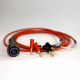 Amptec Research 4 wire banana jack Lead Set