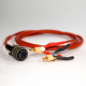 Amptec Research 620UK-300V4 Gold Plated 4 Wire Test Lead Set