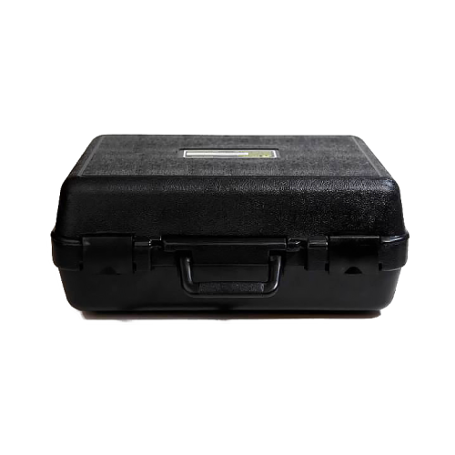 Black Protective Hard Shell Transit Case for Protecting Electrical Testing Equipment Amptec Research OP-100