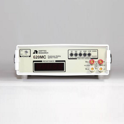 Amptec Research 620MC Safe Squib Tester Failsafe Current Limiting Resistance Tester