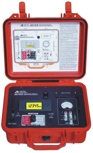 Amptec Research 601ES Weatherproof Igniter Tester in Red Case