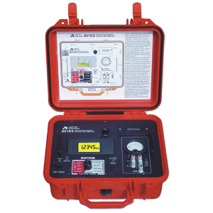 Top Angled View of Amptec Research 601ES Weather Resistant Igniter Tester