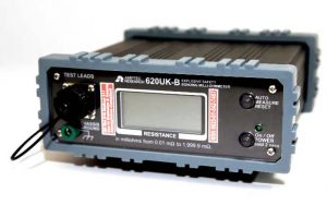 Amptec 620UK-B bonding Ohmmeter for Electrical Testing