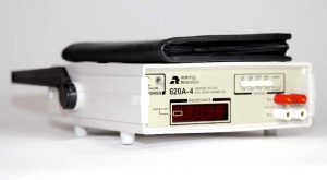 Side Angle View of Amptec Research 620A-4 Igniter Tester and Probe Set Case