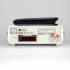 Amptec Research Failsafe Squib Tester 620A-4 Failsafe Ohmmeter and Test Lead Set Storage Case