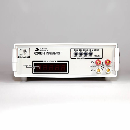 Amptec Research Front View of 620EH Igniter Tester