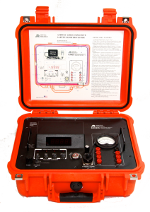Ruggedized Safety Igniter Tester with Orange Case