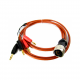 Amptec Research 630-304 4 wire banana jack Test Lead Set