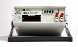 Angled Front View of Amptec 620GD Igniter Tester