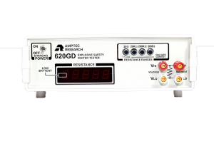 Amptec Research Front View of 620GD Igniter Tester Model