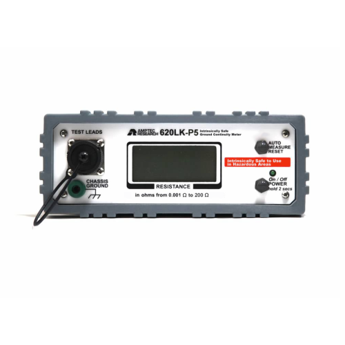 Amptec Research 620LK-P5 Intrinsically Safe Ground Continuity Tester