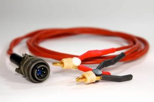 620V4 Gold Plated 4 Wire Kelvin Clip Lead Set