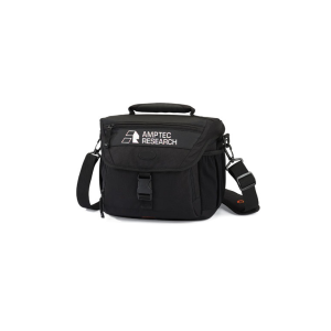 Amptec Research Black Padded Case for Storing and Transporting Electrical Resistance Equipment