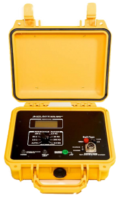 Amptec Research 641N Weather Resistant Igniter Tester in Yellow Case