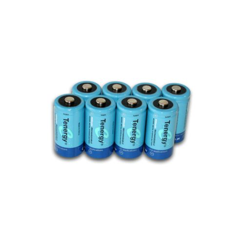 Eight NiMH Batteries for Electrical Testing Equipment
