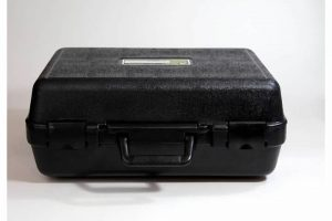 Closed Black Weather Resistant Case for Electrical Testing Equipment