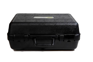 Closed Weatherproof Case for Storing Electrical Testing Equipment