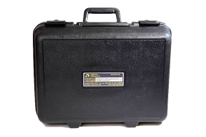 Black Weather Resistant Case for Storing Electrical Testing Equipment